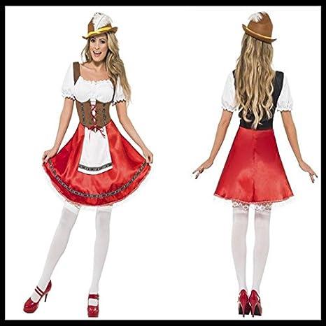 GQ Estocolmo Oktoberfest traje de sirvienta cerveza ropa ...