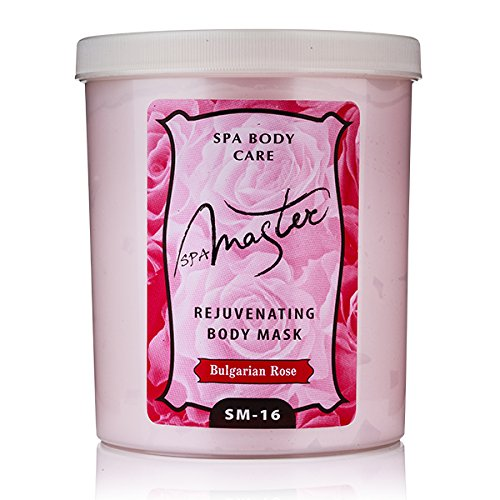 Spa Master Professional Rejuvenating Body Moisturizing Mask with Bulgarian Rose Oil and Clay Rosa Impex