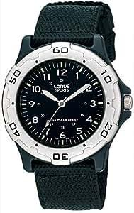 Lorus señoras Reloj de cuarzo analógico deporte goma RRS61NX9