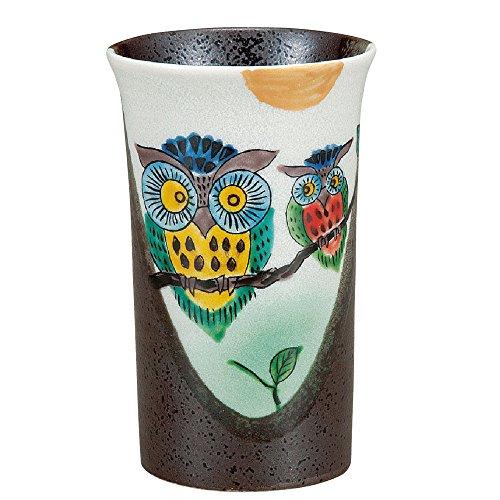 Kutani pottery beer glass Owl ()