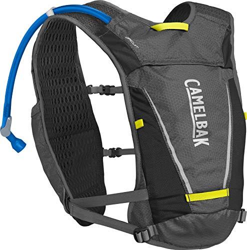 CamelBak Circuit Vest 50oz, Graphite/Sulphur Spring, One - Running Hydration Pack