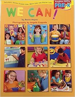 Book Houghton Mifflin Pre-K: Little Big Book Theme 10.3 Grade Pre K We Can!