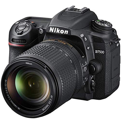 Nikon D7500 Dual Zoom Lens kit (Renewed)