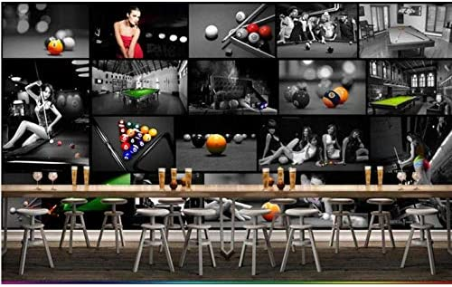 Yzybz Sala De Billar Europea Sala De Tenis De Mesa 3D Wallpaper ...