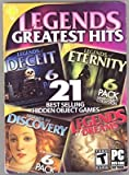 Legends Greatest Hits 21 Hidden Object Of Deceit Discovery Dreams and Eternity - PC Games