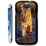 Tiger Case Cover Hard Back Cases Beautiful Nice Cute Animal hot selling cell phone cases for Samsung Galaxy S3... by TigerCases