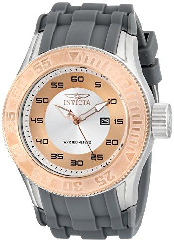 Invicta Men's 14832 Pro Diver Analog Display Japanese Quartz Grey Watch