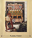 Sew Cherished Flannel Forest Wall Hanging Pattern 42.5 X 52''