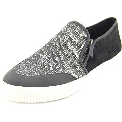 Elie Tahari Women's EL-Viceroy Fashion Sneaker, Black/Black/White, 40 BR/10 M US