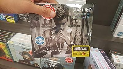 Justin Bieber Purpose 3 Disc Cd Audio New Taiwan Import Original 58 Songs New