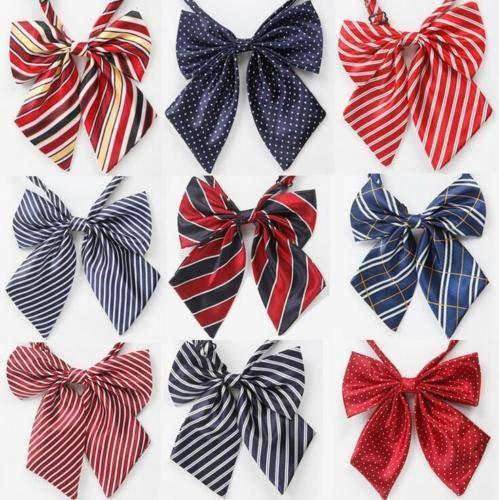 FidgetGear Lot 50 Pcs Mixed Adjustable Polyester Poodle Dog Bowties Pet Collar Bow Ties