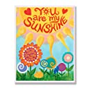 The Kids Room by Stupell You are my Sunshine Rectangle Wall Plaque
