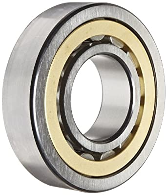 SKF NU 309 ECM/C3 Cylindrical Roller Bearing, Single Row, Removable