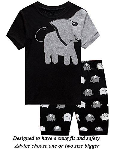 4cccfc5b5a1b Little bety 100% Cotton Boys Girls Pajamas Toddler Pjs Kids ...