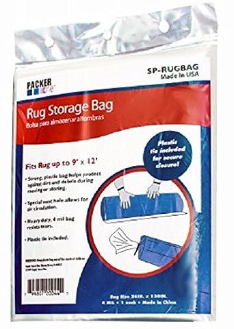 26x130 Rug Storage Bag (Clear Plastic Area Rug)