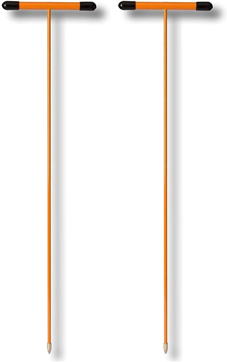 Nupla NC-PRB4T Soil Probe with Metal Tip 48 Handle Length Solid Handle and T Grip Fіvе Расk