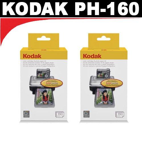 Kodak PH160 Media Cartridge for Kodak EasyShare Printer Docks (2 packs) by Kodak