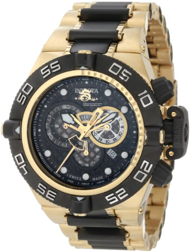 Invicta Men s 6562 Subaqua Noma IV Collection Chronograph 18k Gold-Plated Stainless Steel Watch