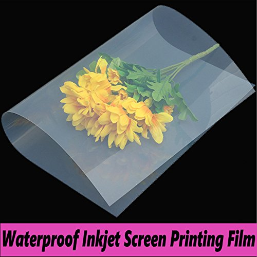 800 Sheets,Waterproof Inkjet Silk Screen Printing Transparency Film (800 sheets 13''x18'') by Tiger-Hoo