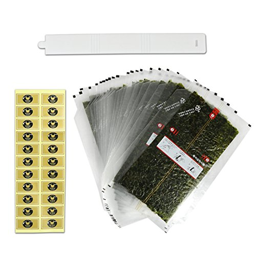 Onigiri Nori Rice Ball Triangle Sushi Seaweed Wrappers Refill 40 Sheets
