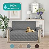 Turquoize Water Resistant Quilted Sofa Cover