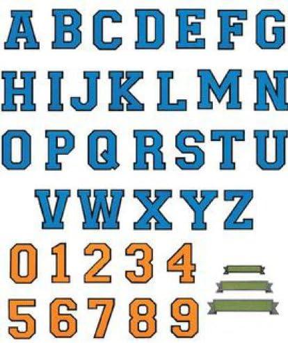 Brother 4977766118446 - Tarjeta de diseño de Bordado - alfabetos para bordadoras: Amazon.es: Hogar