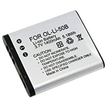 Everydaysource [2 Pack Valued Combo] - Compatible With Olympus Li-50B Li-Ion Battery