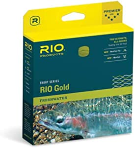 RIO Products Fly Line Rio Gold Wf3F Moss/Gold, Moss-Gold