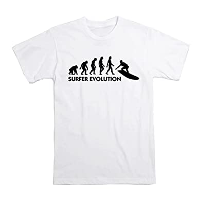 9b1d0f8987a9 Amazon.com  OKnown Evolution of Snowboarding Mens T Shirt Straight ...