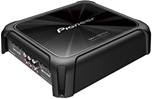 PIONEER 4CH AMP/150WX4/BASSBOOST REM, Black (GM-D8704)