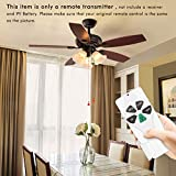 HiYiLL 53T Ceiling Fan Remote Control Replacement for Harbor Breeze Hunter Westinghouse Remote Transmiter KUJCE9103 2AAZPFAN-53 FAN-11T FAN-53T (Just Remote Control ONLY)