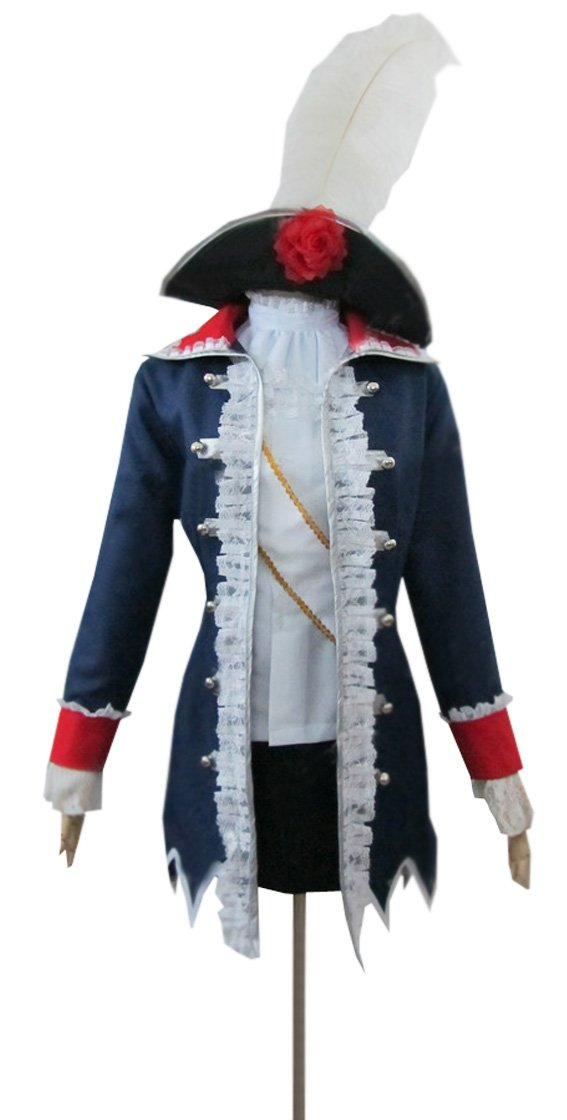 Dreamcosplay Anime Hetalia: Axis Powers Prussia Lady Military Uniform Cosplay by Dreamcosplay