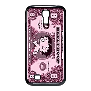 Good Quality Phone Case With HD Betty Boop Images On The Back , Perfectly Fit To Samsung Galaxy S4