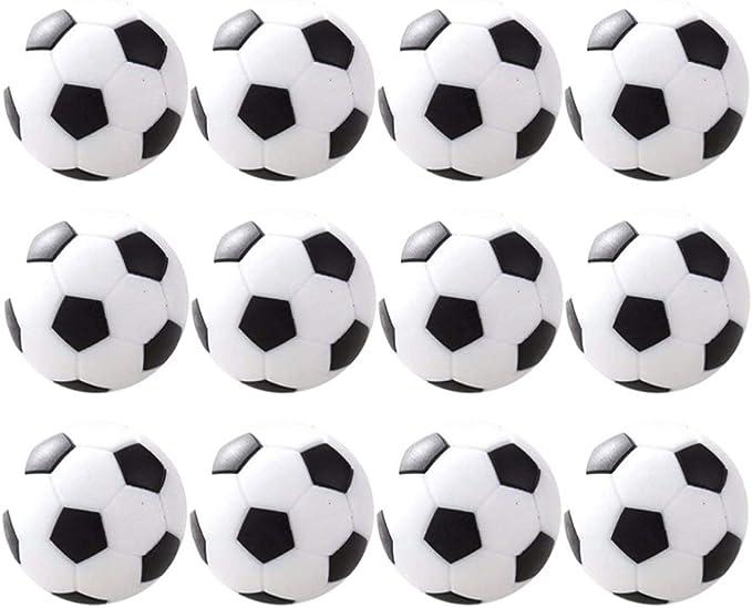 BESPORTBLE Paquete de 12 Mini Juegos de Mesa de Fútbol de Mesa Pelota Fútbol de Mesa Fútbol para Niños Entretenimiento: Amazon.es: Juguetes y juegos