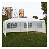 Outdoor 10'x20'Canopy Party Wedding Tent Gazebo Pavilion Cater Events 4 Sidewall Review