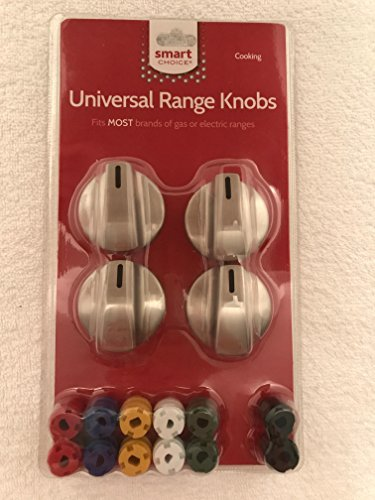 Smart Choice Ss Gas and Electric Range Knob (KNOBKIT4S) Pack of 4