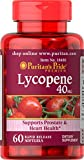 Puritan's Pride Lycopene 40 mg, Supplement for Prostate and Heart Health Support**, Contains Antioxidant Properties**, 60 Rapid Release Softgels Review