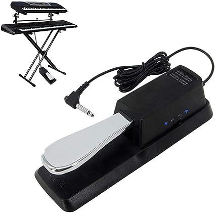 TIM-LI Pedal De Sostenido De Teclado Pedal De Piano Universal ...