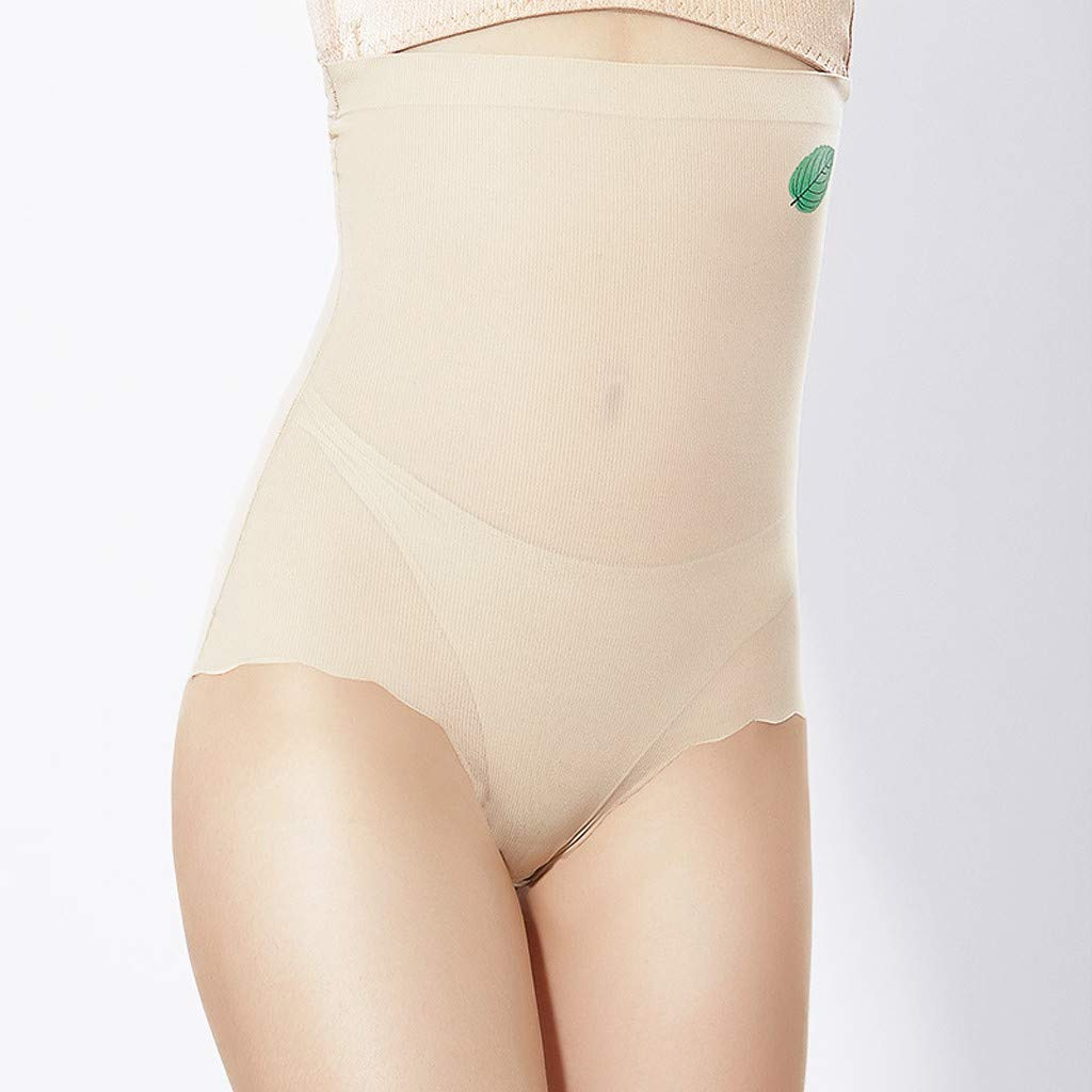 iBOXO Women High Waist Shapewear Slimmer Tummy Control Seamless Body Shaper Shaping Briefs