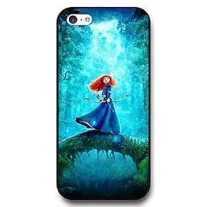 XiFu*MeiCustomized Disney Brave Princess Merida Black Hard Plastic iphone 6 plua 5.5 inch CaseXiFu*Mei