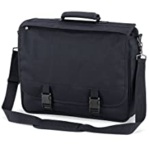Quadra - sacoche cartable sac porte documents - QD65 - mixte adulte (Noir)