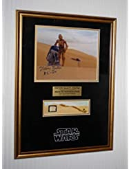 "STAR WARS ""Screen-Used"" PROP ""Tatooine"" KRAYT DRAGON, Signed (R2D2) Kenny Baker COA, DVD, UACC"