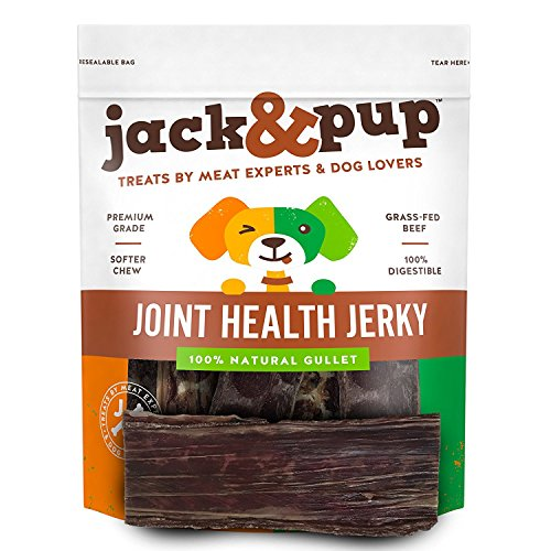 JackPup-6-Joint-Health-Beef-Jerky-Dog-Treat-Chews-25-Pack–Gourmet-Fresh-and-Savory-Beef-Gullet-Jerky-Naturally-Rich-in-Glucosamine-and-Chondroitin-Promotes-Healthy-Joints-and-Tissue-Growth