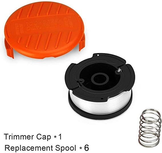 5er Pack Ersatzspulen Fadenspulen für Black+Decker Trimmer Rasentrimmer