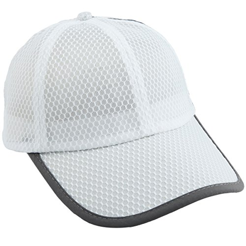 Golf Lightweight Cap (squaregarden Baseball Cap Hat,Running Golf Caps Sports Sun Hats Quick Dry Lightweight Ultra Thin,White(Mesh Hat),One Size)
