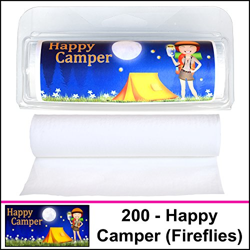 Gotta Tinkle! Happy Camper Fireflies made our CampingForFoodies hand-selected list of 100+ Camping Stocking Stuffers For RV And Tent Campers!