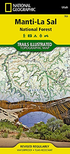 - Manti-La Sal National Forest (National Geographic Trails Illustrated Map)