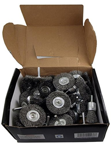 40-pc. Wire Wheel Brushes by Cal Hawk