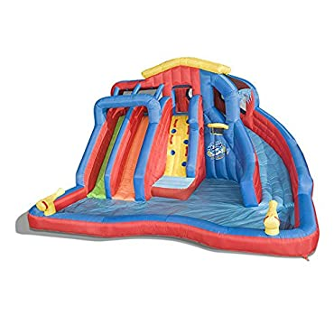 Banzai Hydro Blast Inflatable Water Park with Slides & Water Cannons