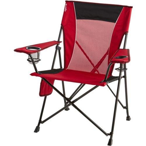 Kijaro Dual Lock Folding Chair (Red) by Kijaro Dual